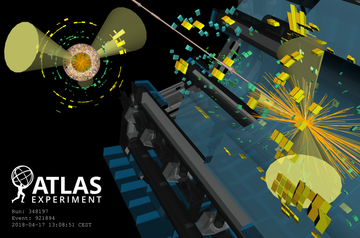 particle collision simulation