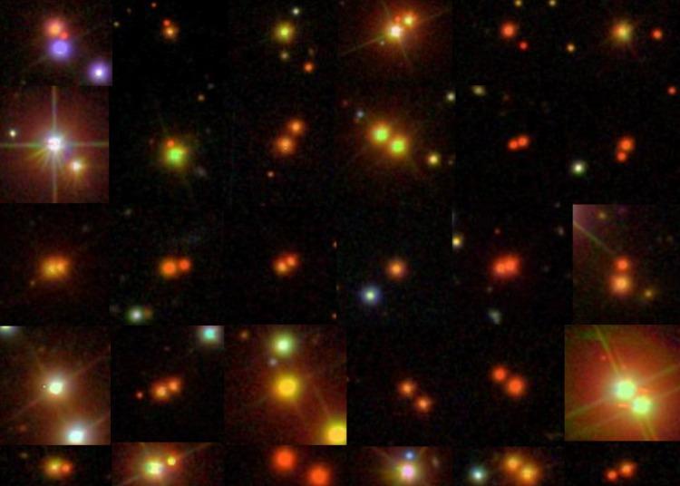 binary stars plentiful
